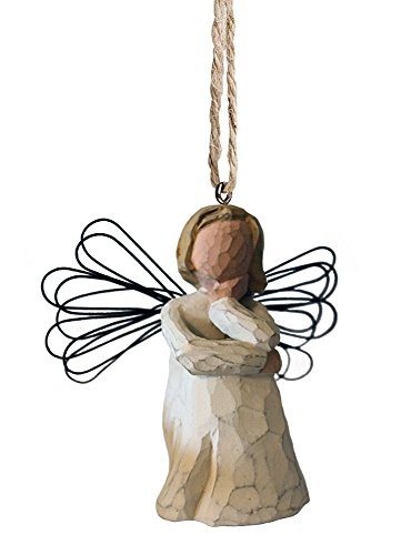 Willow Tree Angel of Patience Ornament, #26063, RETIRED