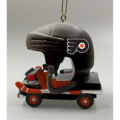 Team Sports America Philadelphia Flyers Vintage Rink Cart Team Ornament