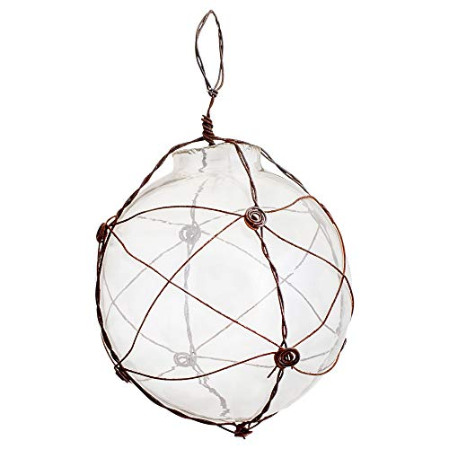 First of a Kind 3″ Round Glass & Wire Ball Ornament