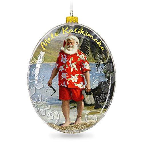 Hallmark Keepsake 2017 Mele Kalikimaka Hawaii Santa on the Beach Christmas Ornament