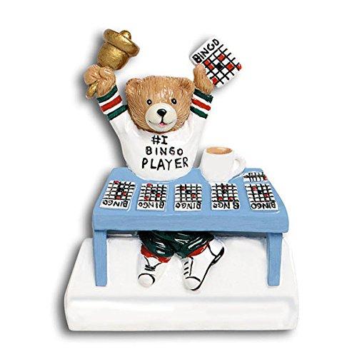 Polar X Bingo Game Personalized Christmas Tree Ornament