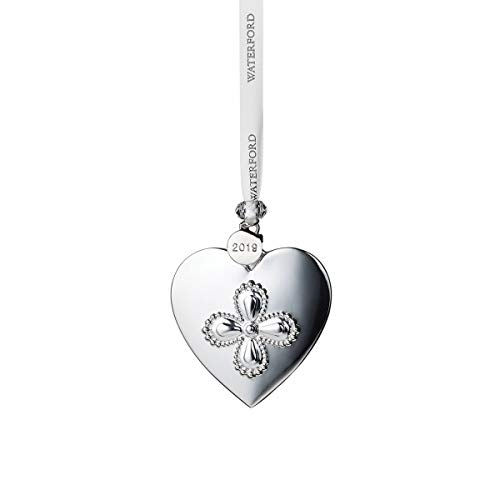 Waterford Silver Ornaments – Heart