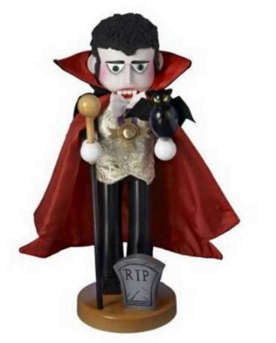 2013 Signed Steinbach *Count Dracula Vampire* LE Nutcracker 1st in Horror Series