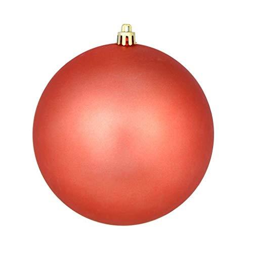 Vickerman 625330-3″ Coral Matte Ball Christmas Tree Ornament (12 pack) (N590871DMV)