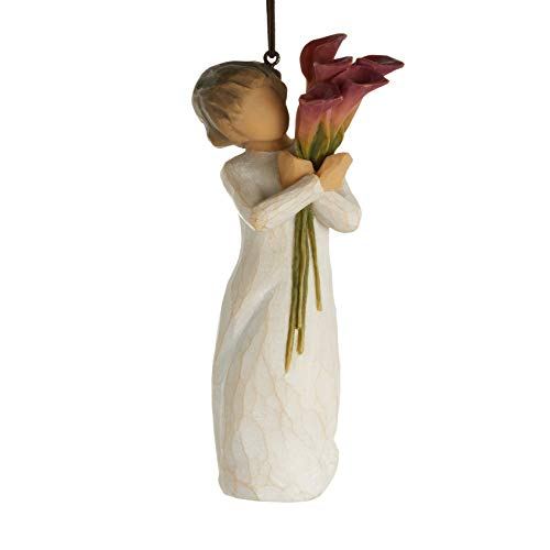 Willow Tree Bloom Ornament, Sculpted Hand-Painted Figure