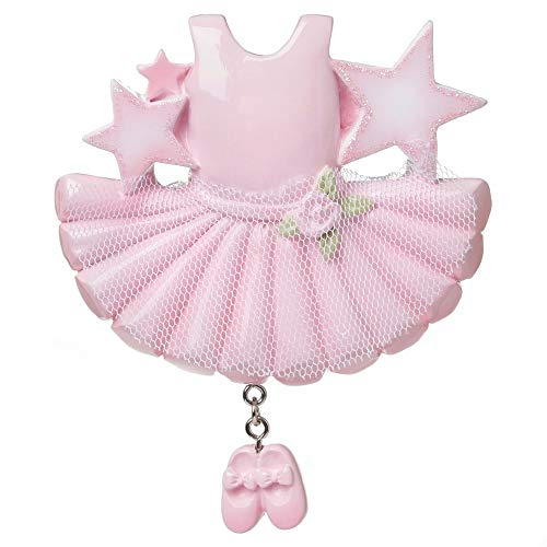 Polar X Ballerina Outfit Personalized Christmas Ornament