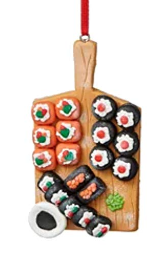 Holiday Lane Foodie Sushi Ornament