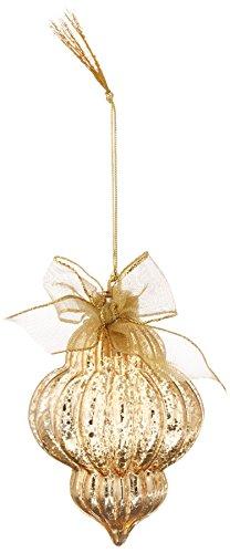 Lenox 870931 Crystal Ornaments Lit Mercury Golden Spire