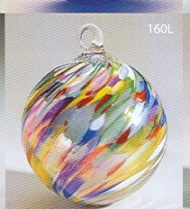 Glass Eye Studio Ornament Classic Circus Twist