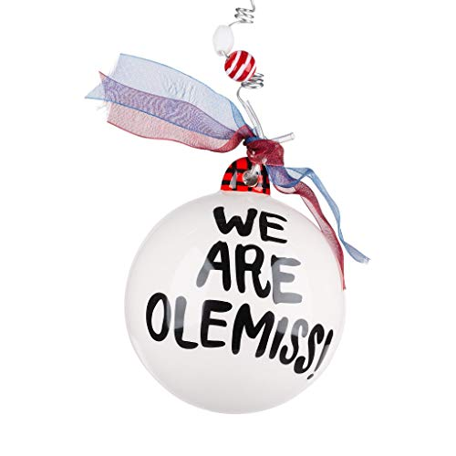 Glory Haus University of Mississippi Walk of Champions Holiday Ornament We are Ole Miss