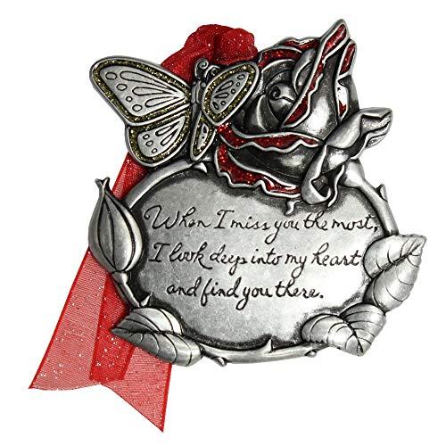 Gloria Duchin Remembrance Rose Christmas Ornament, Multi