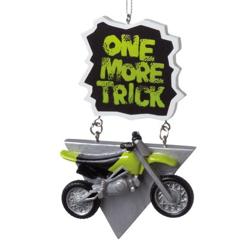 Midwest One More Trick Dirt Bike Ornament
