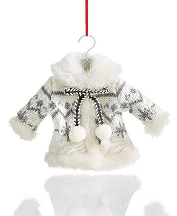 Holiday Lane Knit Sweater Ornament