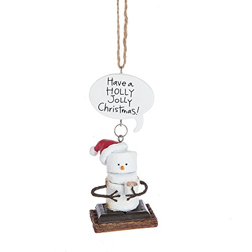 "Midwest-CBK Toasted S'mores ""Have a HOLLY JOLLY Christmas!"" Ornament"