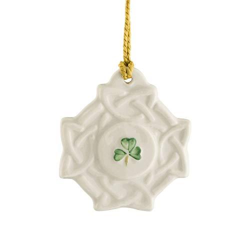 Belleek Celtic Knot Ornament