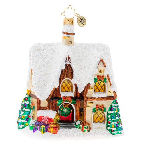 Christopher Radko Home for The Holidays Christmas Ornament, Multicolored