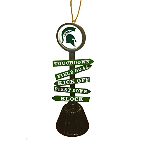 Team Sports America Michigan State University Fan Crossing Ornament