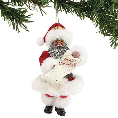 Department 56 Possible Dreams Merry Christmas Hanging Ornament, 6″, Multicolor
