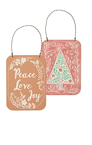 Primitives by Kathy Peace Love Joy Ornament