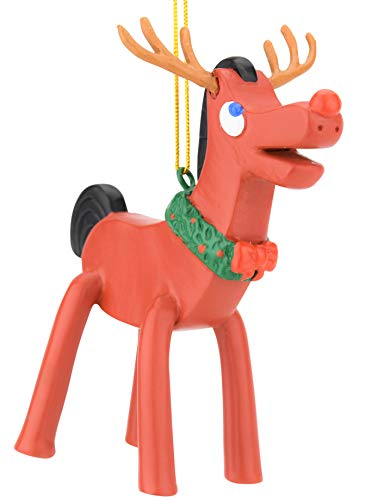 Tree Buddees Rudolph Pokey Holiday Christmas Ornament Limited Edition Figure