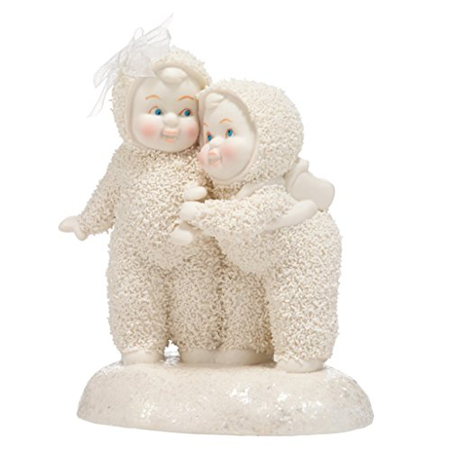 "Department 56 Snowbabies ""I'm Here For You"" Porcelain Figurine, 4.4″"