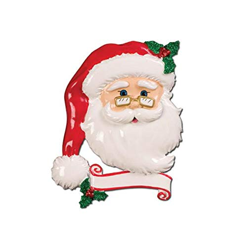 Polar X Jolly Santa Personalized Christmas Ornament