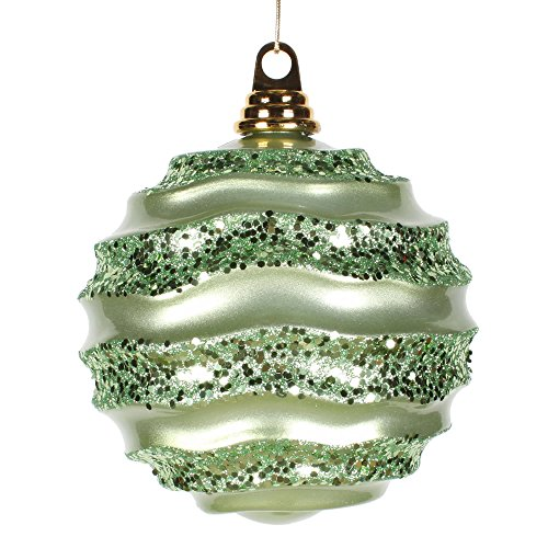 Vickerman Wave Ball Ornament