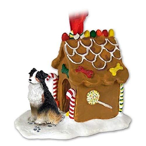 Australian Shepherd Gingerbread House (Tri)