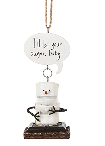 Midwest-CBK Toasted Smores Be Your Sugar Baby Christmas Holiday Ornament