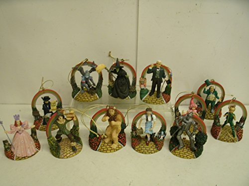 Bradford Exchange Wizard Of Oz ornaments Yellow Brick Road Collection no. 68591