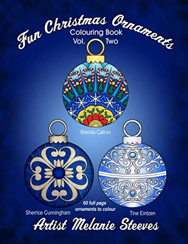 Fun Christmas Ornaments Volume Two – Colouring Book