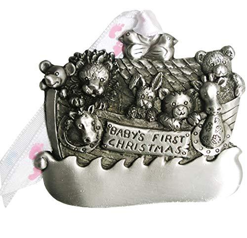 Gloria Duchin Noah's Ark Baby's First Christmas Ornament