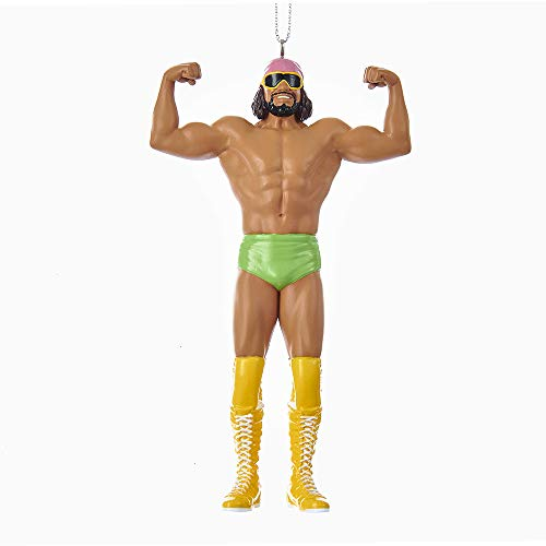 Kurt Adler 5-Inch Resin WWE Macho Man Randy Savage Christmas Ornament