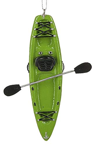 Ganz U.S.A., LLC Green Kayak Ornament Christmas Decorations for Holiday Tree Decor Xmas Gifts for a Kayak Enthusiast