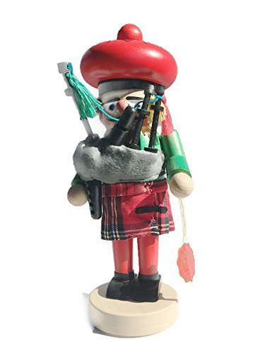 Steinbach 13 Chubby Scottish Bagpiper