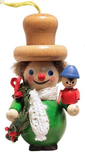 Steinbach Bob Cratchit Christmas Tree Ornament Handmade in Germany