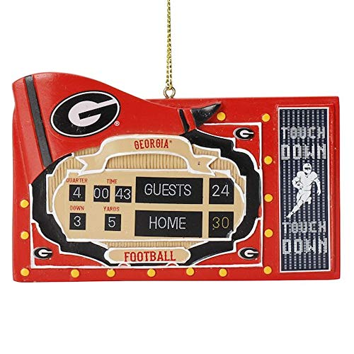 Spectrum Deluxe NCAA Fan Scoreboard Ornament (Georgia Bulldogs)