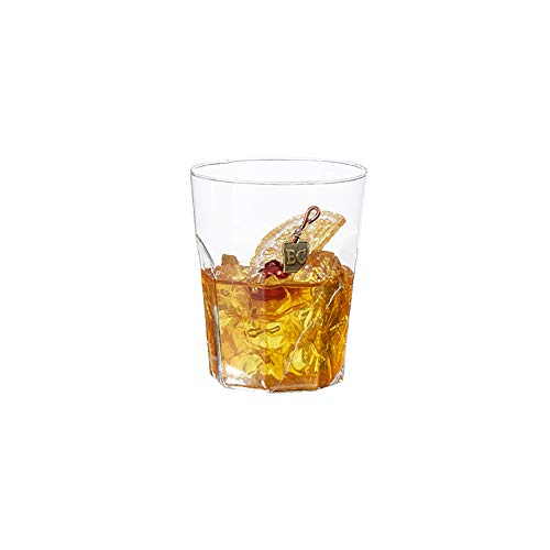 Raz Clear Old Fashioned Cocktail 3.5 inch Acrylic Decorative Christmas Ornament