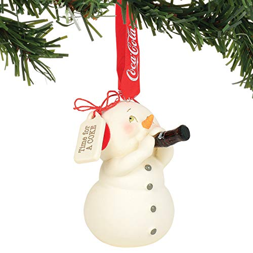 Department 56 Snowpinions Time for a Coke Hanging Ornament, 3.125″, Multicolor