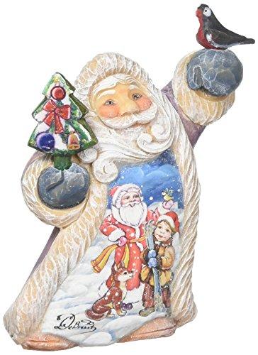 G. Debrekht Penguin Pals Santa