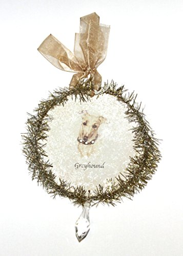 Rudolph & Me Dog Christmas Ornament – Greyhound