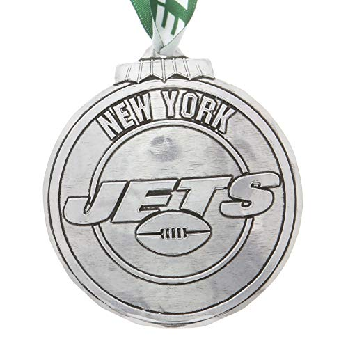 Wendell August New York Jets Classic Round Ornament (Aluminum)