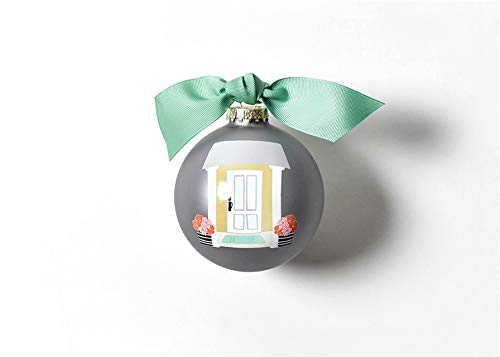 Coton Colors 100 MM Sweet Home Glass Ornament