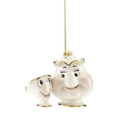 Lenox Disney Showcase Mrs Potts & Chip Ornament