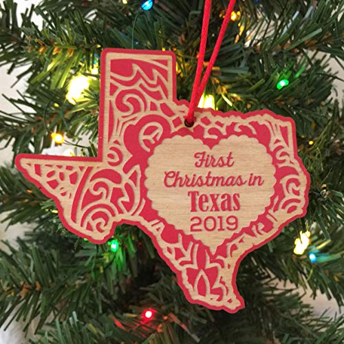 First Christmas in Texas 2019 Christmas Ornament