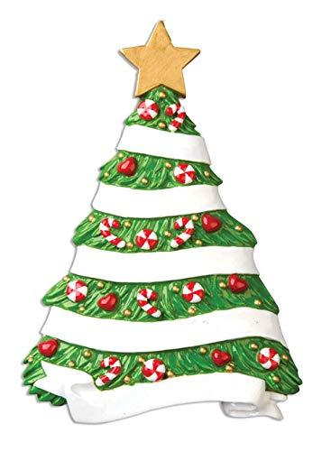 Polar X Family Grandma's Tree Personalized Christmas Ornament