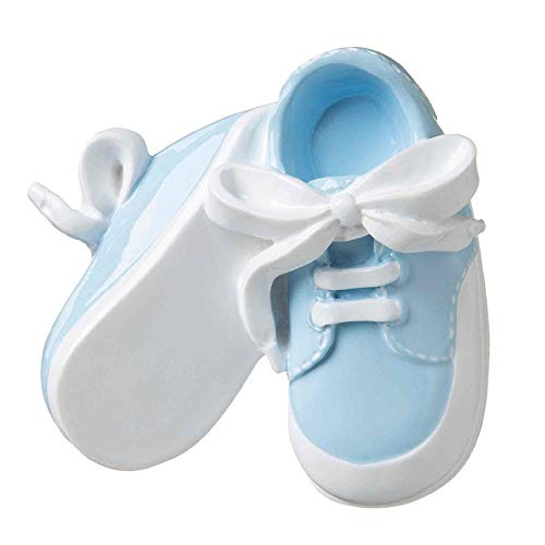 Polar X Baby Booties (Blue) Personalized Christmas Ornament