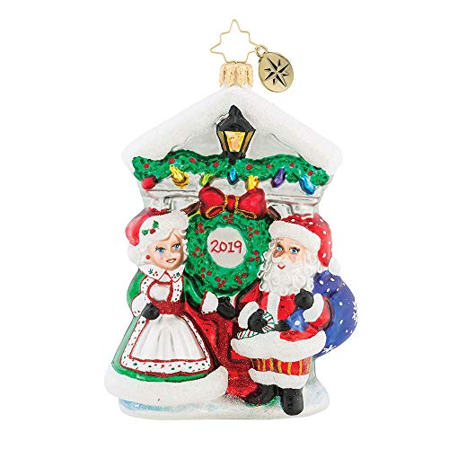 Christopher Radko Holiday Threshold Dated 2019 Christmas Ornament