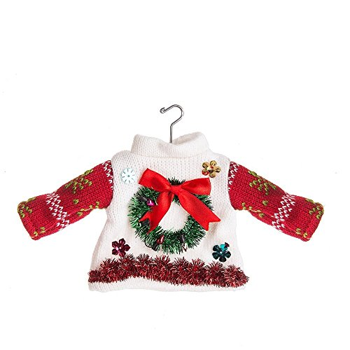 Midwest-CBK Wreath Ugly Sweater Ornament