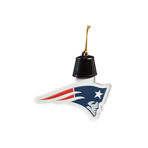 Team Sports America New England Patriots Radiant Lit Acrylic Team Icon Ornament